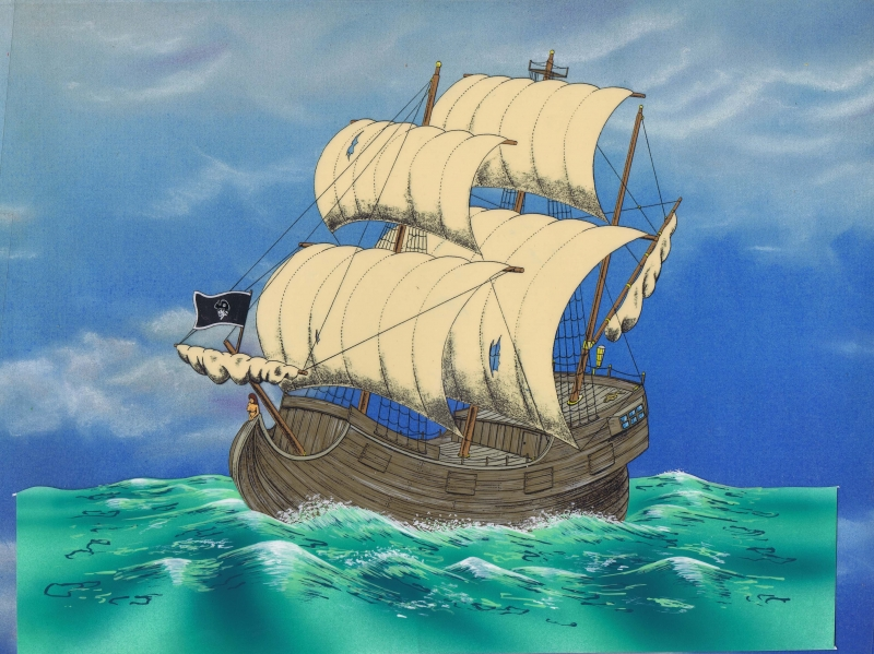 Animated pirate ships - photo#5